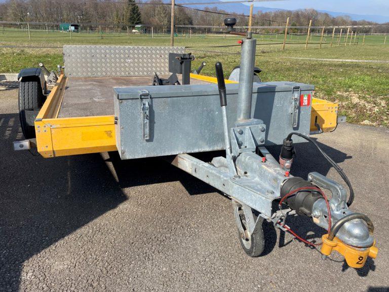 Plateau moto - 980 kg de charge utile